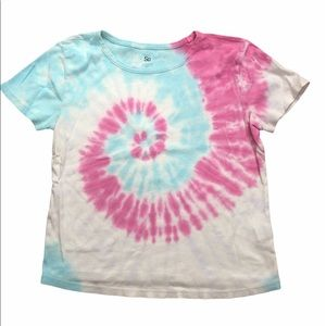 SO Tie Dyed short sleeve top size M